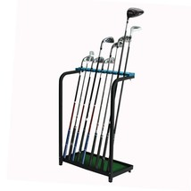 New Golf Club Display Stand Rack Durable Metal Storage 9 Clubs Organizer... - $2.087,36 MXN