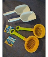 Sand tools : 2 Sieves + 2 Showels by Creatology New - $9.90