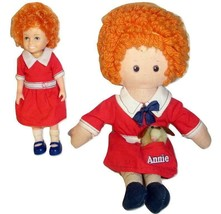 Two Vintage Knickerbocker Little Orphan Annie Dolls From 1977 And 1982 - $13.00
