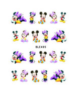 Water Transfer Watermark Art Nails Decal Sticker Manicure Minnie Mouse B... - $2.00