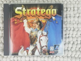Stratego 1998 PC Computer Game CD-ROM Win95/98 Hasbro Disc and Booklet - $9.99