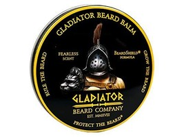 Gladiator BeardTM Conditioning Balm 2.6 oz. - Fearless Scent - Gladiator Sized 2