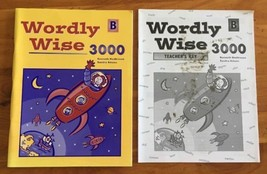 Wordly Wise 3000:  Book B 2004 Student & Answer Key EPS Homeschooling Vo... - $9.99