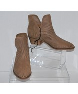 Women's Lucile Laser Cut Out Ankle Boots - Merona  Taupe Brown 9.5 - $9.50