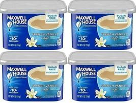 Maxwell House International Decaf Sugar Free French Vanilla Cafe 4 oz ( Pack of - $24.50