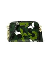 Michael Kors Ginny Medium Camera Bag in Butterfly Camo Embossed Leather ... - $79.19