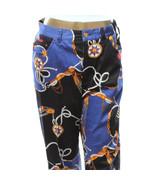 Vintage Lauren Ralph Lauren Nautical Sailing Print Womens Capri Pants Je... - $28.01