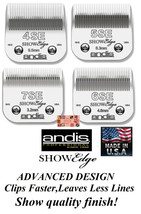 Andis SHOWEDGE BLADES*Fit Most Oster,Wahl Clipper*Faster,Smoother than U... - $33.99+