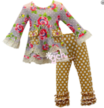 Autumn Fall Penelope Boutique Outfit Great for School Many Sizes gch - $24.99
