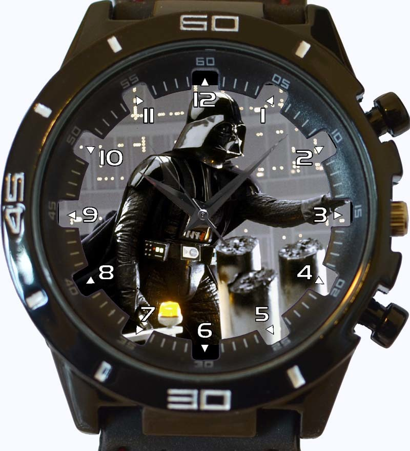 Black Darth Vader New Gt Series Sports Unisex Gift Watch