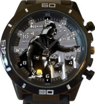 Black Darth Vader New Gt Series Sports Unisex Gift Watch - £28.09 GBP