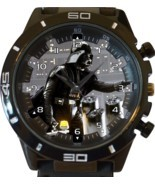 Black Darth Vader New Gt Series Sports Unisex Gift Watch - $46.91 CAD
