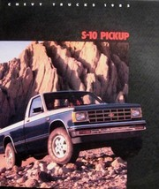 1985 Chevy Chevrolet S-10 Pickup Truck Color Brochure - $7.98