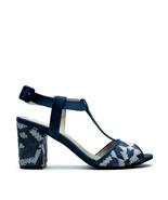 Vegan Sandal Women Middle Block-Heeled Peep Toe Ecological Micro-Suede ... - $110.06
