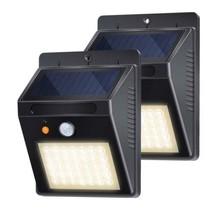 Lampe Solaire Jardin, Detecteur de Mouvement 35LED 500lm IP65 étanche av... - $24.16