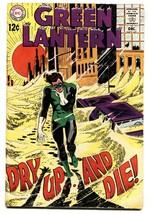 Green Lantern #65 comic book 1968- DC Silver Age vg+ - $32.79