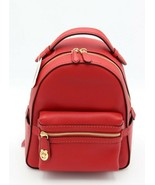 NWT Coach Campus 23 Red Leather Backpack Bag New 31032 - $195.00