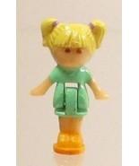 1990 Vintage Polly Pocket Doll Writing Case Playset - Tiny Tina Bluebird... - $7.00