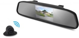 Pyle Rearview Backup Camera and Mirror Monitor, Night Vision Cam, 4.3' S... - $68.32