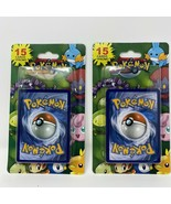 2 TWO Pokemon 15 Card + Promo 2012 Vintage Packs Possible PSA Charizard NEW - $35.28