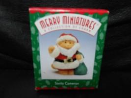 "Hallmark Merry Miniatures ""Santa Cameron"" 1997 Figurine NEW - $6.88"