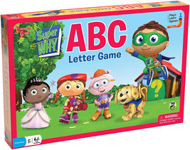 Super Why ABC Letter Game - $46.10