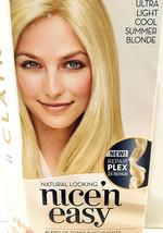 Clairol Nice'n Easy Ultra Light Cool Summer Blonde SB2 Permanent Haircolor Kit - $10.89