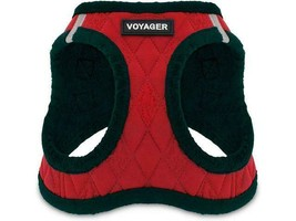 Voyager Step-in Plush Dog Vest Harness for Small Dogs, Size S