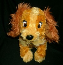 """15 disney """"grand lady and tramp movie stuffed animal soft toy with/col - $18.50"""