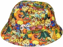Pokemon All Over Print Sublimated Bucket Hat - €25,06 EUR