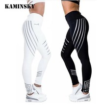 Kaminsky Fitness Leggings Light High Elastic Shine Slim Fit - $230,57 MXN