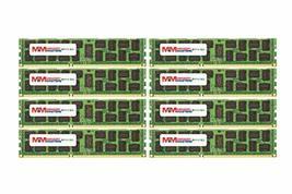 MemoryMasters 64GB (8x8GB) DDR3-1333MHz PC3-10600 ECC RDIMM 2Rx4 1.35V Registere - $157.40