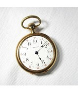 Vintage Estate American Waltham 1901 Pocket Pendant Watch 14K Gold C2221 - $1,153.93