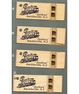 """Joshua"" engine keychain whistle,Smithville NJ, Lot of 4 Toycrafter, woo... - $5.70"