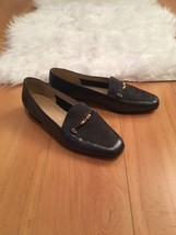 Enzo Angiolini Gray Leather Suede Flats Size 6.5 M - $19.80