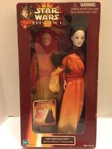 Star Wars Queen Amidala Collection Episode 1 Doll & Mask #61776 Hasbro - $9.49