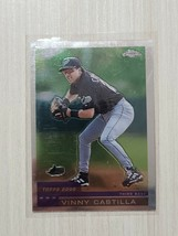 2000 Topps Chrome Vinny Castilla - 382 Baseball Card *FREE SHIPPING* - $1.89