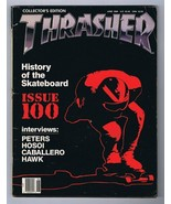 ORIGINAL Vintage June 1989 Thrasher Skateboard Magazine John Hutson Buck... - $23.15