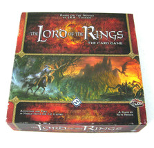 LORD OF THE RINGS Card Game (Fantasy Flight 2010) Middle Earth, Boxed Complete! - $28.50