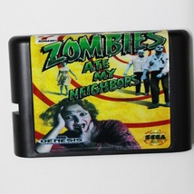 Zombies Ate My Neighbors 16 bit MD Game Card For Sega Mega Drive For Gen... - $9.99