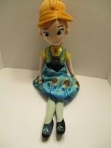 Disney Store Frozen Anna Plush Doll Princess 22 Inch - $13.45