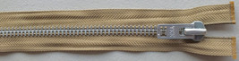 Aluminum #10 Solid Aluminum Heavy Separating Metal Zipper by YKK ® Brand... - $9.95
