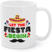 Fiesta Mexican Party Coffee Mug Funny Cinco De Mayo Coffee Mug - $16.95