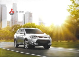 2015 Mitsubishi OUTLANDER sales brochure catalog 15 US ES SE GT - $8.00