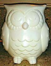 "Hallmark White Ceramic Owl Figurine 6 1/2"" - $24.74"