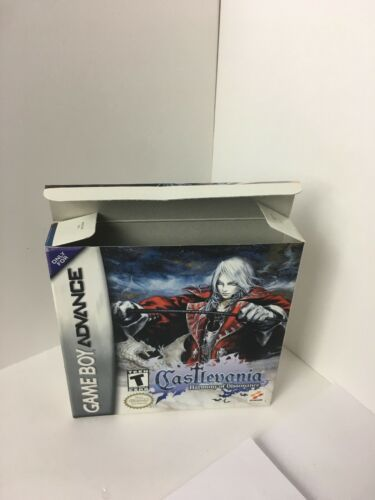 GBA Castlevania Harmony Of Dissonance  BOX & MANUAL ONLY No Game image 5