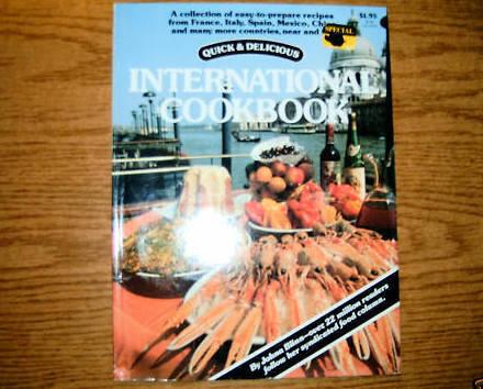 Quick & Delicious International Cookbook Johna Blinn