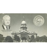 Illinois, Land of Lincoln, Charles F. Carpentier Secretary of State post... - $4.99