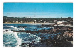 CA Carmel Bay Monterey Peninsula Coastline Shore Panorama California Pos... - $3.99