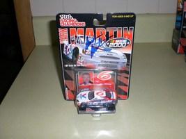 Mark Martin AUTOGRAPHED 1/64 Nascar diecast car - $6.99